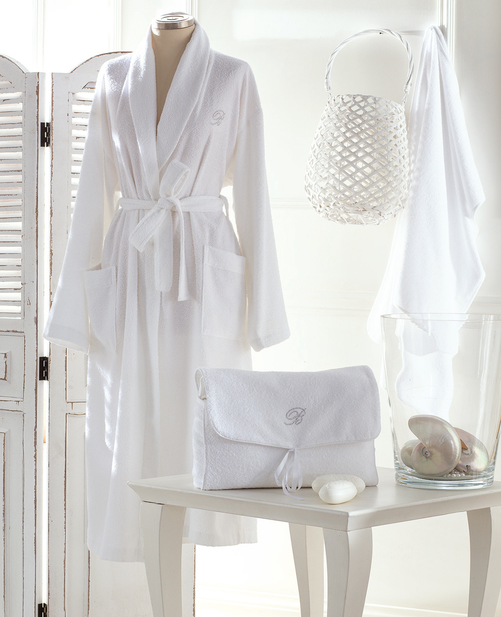 Bathrobe and purse Porto Cervo L/XL