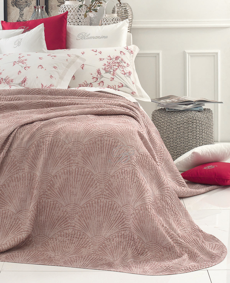 Unquilted bedspread Baia double bed