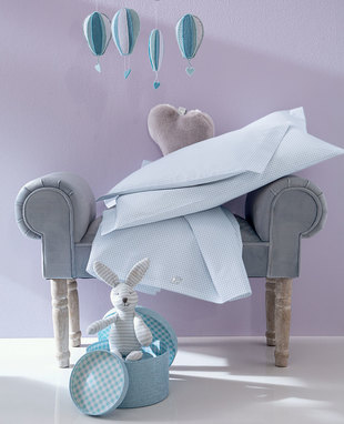Sheet set for baby cradle Coccole