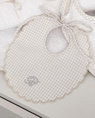 Newborn bib Cicogna