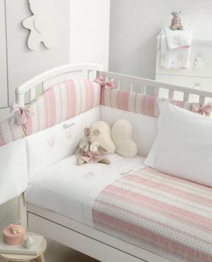 Duvet cover set for baby bed Coccole