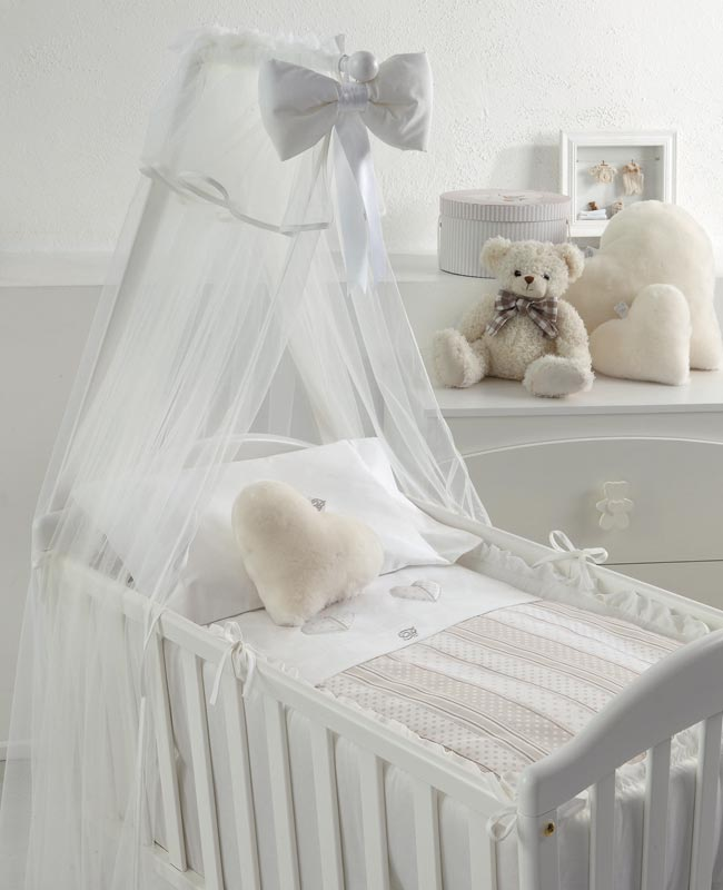 Duvet cover set for baby cradle Coccole