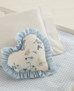 Cushion Ariella heart-shaped