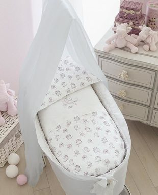 Duvet cover set for baby cradle Gufetti