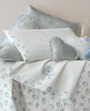 Sheet set for baby cradle Gufetti