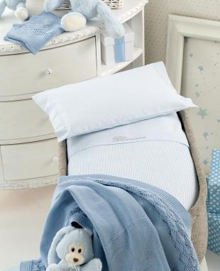Duvet cover set for baby cradle Marina