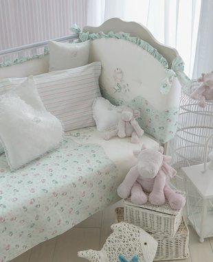 Duvet cover set for baby bed Coralli