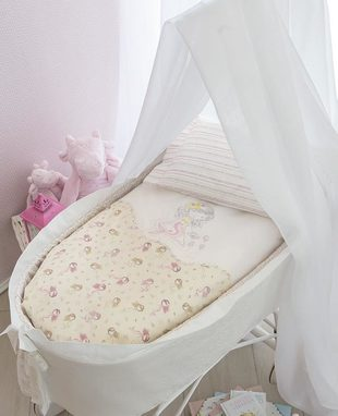 Duvet cover set for baby cradle Coralli