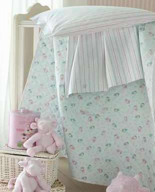 Bedpsread Coralli for baby cradle
