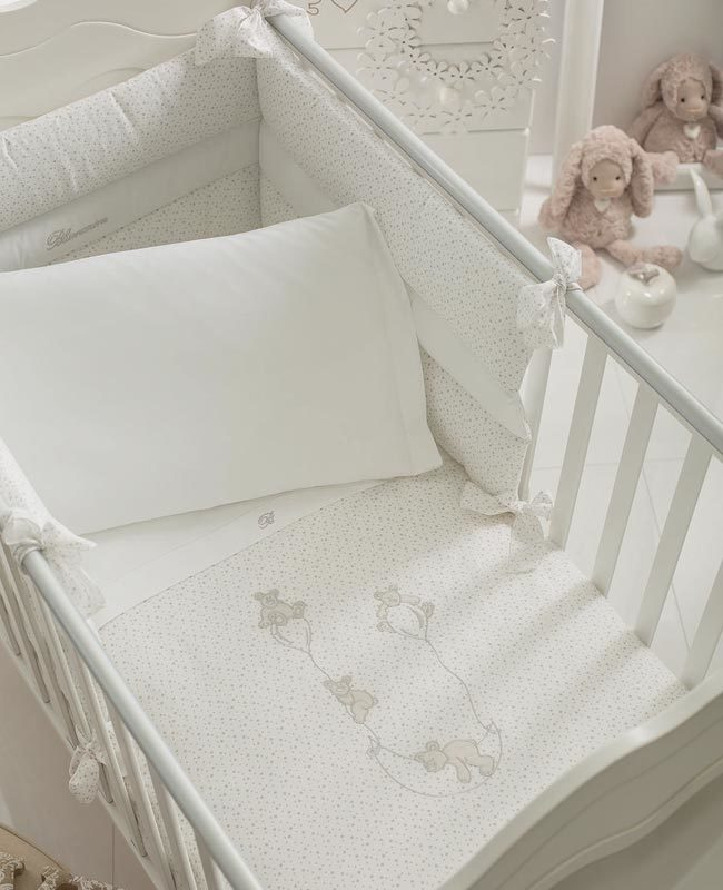 Duvet cover set for baby bed Stellina