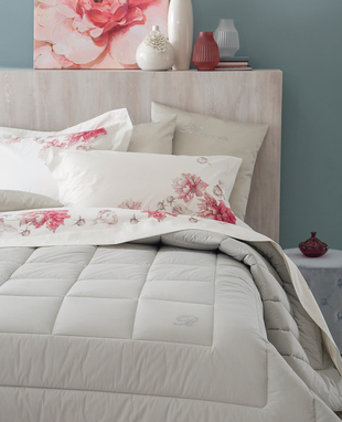 Comforter Blu Valentina for double bed