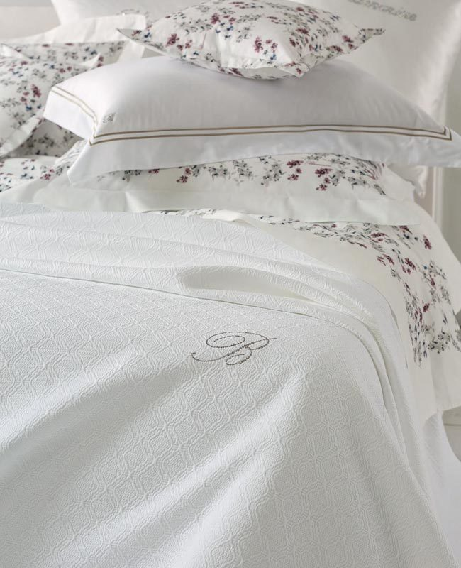 Bedspread Delfina unquilted for single bed