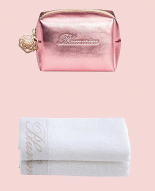 Purse Ecopelle with washcloths