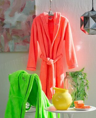 DRESSING GOWN FLUO