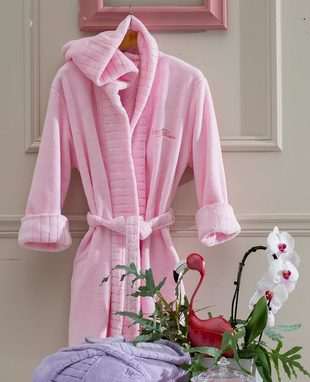 DRESSING GOWN FLAMINGO