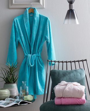 DRESSING GOWN CHEVRON