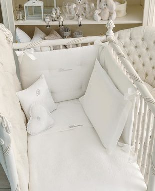 Duvet cover set for baby bed Bocciolini