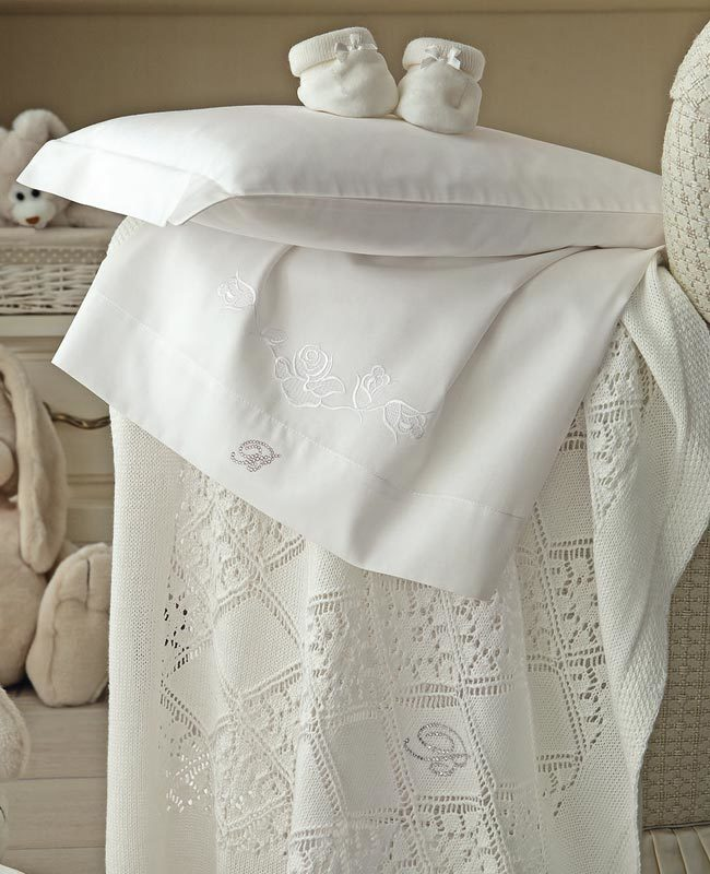 Sheet set for baby bed Bocciolini
